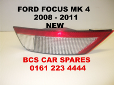 FORD FOCUS MK 4   REAR REVERSE LIGHT   PASSENGER SIDE    2008  2009  2010  2011  NEW  NEW
